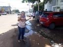 Patriciana Guimarães (PRB) juntamente com seu Gabinete Móvel Popular esteve visitando ruas e avenidas da cidade a pedido de internautas.