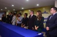 Acácio Favacho, participa de lançamento do Programa Criança Feliz, no Amapá