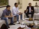 Acácio Favacho participa de reunião com o governador do Amapá