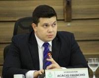 Acácio Favacho solicita melhorias em vias públicas de Macapá.