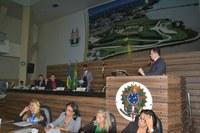 Acácio Favacho usa a tribuna para destacar projeto de Lei que doa terreno à Câmara Municipal