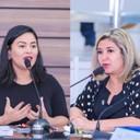Adrianna Ramos e Maraína Martins buscam melhoria para a saúde bucal no município