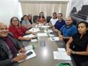 Adrianna Ramos preside a primeira reunião da Comissão Internacional.