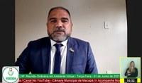 Alexandre Azevedo busca melhorias para o Distrito da Fazendinha e conjunto Laurindo Banha
