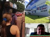 André Lima pede melhorias no Infraero II, próximo ao Hospital de Amor, na Zona Norte