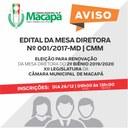 ATO DA MESA - ELEIÇÃO 2º BIÊNIO 2019/2020