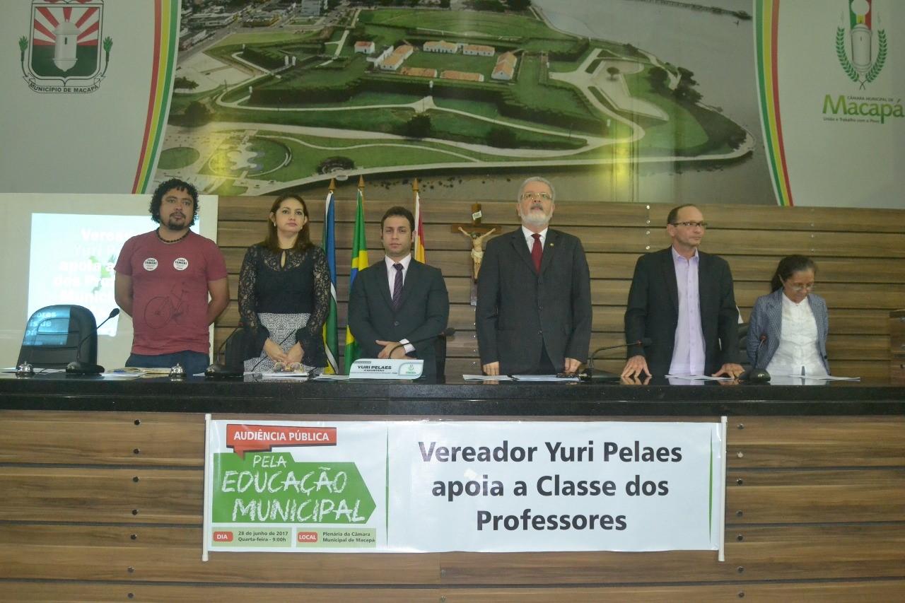 Audiência Pública debate a Educação Municipal em Macapá