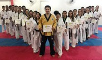 Bruno Igreja pede apoio dos vereadores para retomada de projeto social de Taekwondo