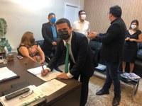 Bruno Santos reassume vaga de vereador pela segunda vez em Macapá