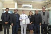 Câmara concede Titulo de Cidadão Macapaense ao capitão Jaques