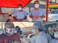 Câmara de Vereadores fiscaliza etapas da vacinação contra a COVID-19 em Macapá