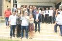 Câmara de Vereadores recebe imagem peregrina de São José.