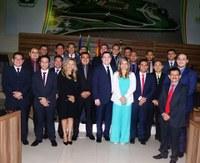 Câmara de Vereadores volta do recesso e realiza a primeira sessão ordinária de 2017.