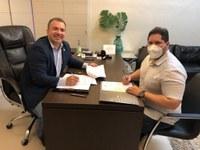 Câmara Municipal de Macapá́ assina termo de cooperação técnica com o Prodap para modernização dos processos legislativos