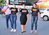 Câmara Municipal de Macapá participa da Blitz Sinal Vermelho Contra a Violência Doméstica