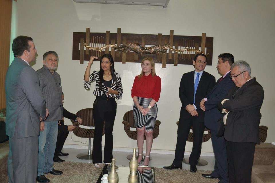 Câmara Municipal formaliza parceria com a Escola do Legislativo Estadual.