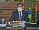 Claudiomar Rosa quer programação de limpeza e desobstrução de canais disponibilizada aos vereadores
