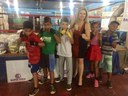 Clube de Boxe Nelson dos Anjos recebe doação de alimentos