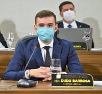 CMM aprova mais dois requerimentos do vereador Dudu Barbosa
