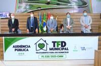 Criação do TFD Municipal é tema de debate durante audiência pública protagonizada pelo vereador Alexandre Azevedo na CMM