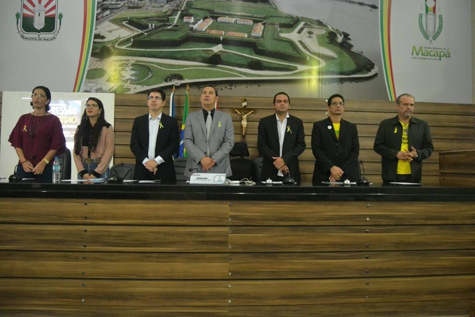 Depressão e suicídio é tema de audiência pública na Câmara de Vereadores de Macapá