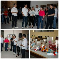 Diego Duarte acompanha entrega de medicamentos à Prefeitura de Macapá