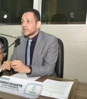 Diego Duarte indica e requisita serviços para os bairros Santa Rita, Alvorada, Jardim Felicidade e Pedrinhas.
