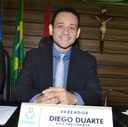 Diego Duarte propõe concessão de vale-transporte para servidor municipal.