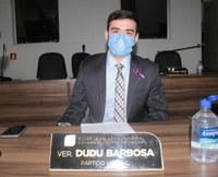Dudu Barbosa aprova requerimentos com benefícios para os bairros Buritizal, Beirol e Coração