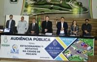 Estacionamento rotativo é tema de audiência pública na CMM