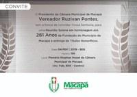 Homenagem aos 261 anos de Macapá