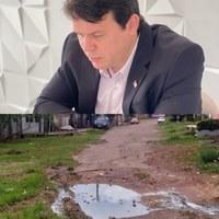 João Mendonça luta por melhorias para o distrito da Fazendinha
