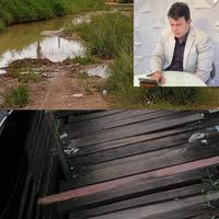 João Mendonça pede construção de passarela no Congós e iluminação pública para o campo do Poeirão