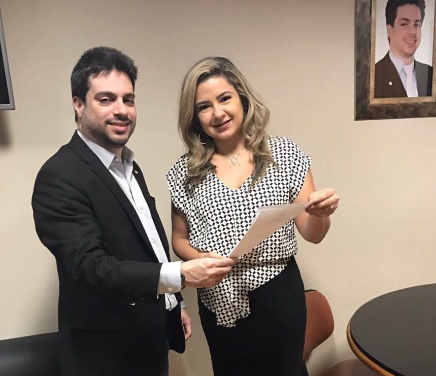 Maraína Martins busca emendas para Macapá em Brasília