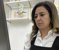 Maraína Martins busca melhorias para a Praça da Conceição, no bairro Trem