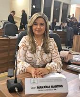 Maraína Martins reivindica recuperação de ruas de Macapá