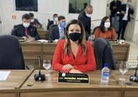 Maraína Martins teve quatro requerimentos aprovados na sessão desta terça-feira