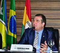 Marcelo Dias anuncia aquisição de elevador para a CMM.