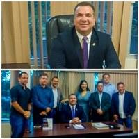 Marcelo Dias assume presidência e adota medidas para retomada urgente de atividades da Câmara