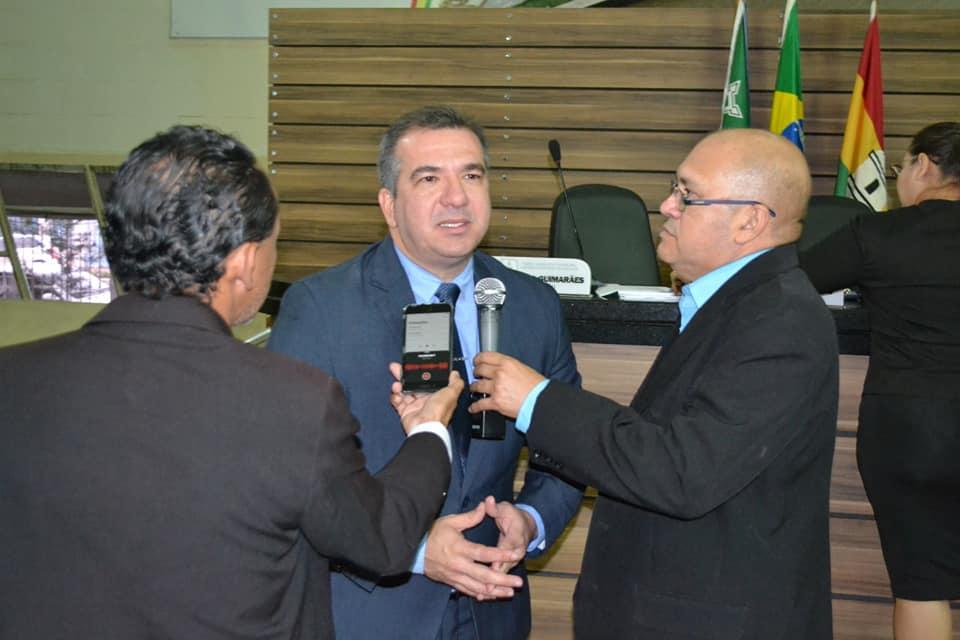 Marcelo Dias conduz primeira sessão ordinária da CMM na condição de presidente