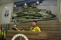 Mototaxistas utilizam Tribuna da Câmara de Vereadores para agradecer aprovação de lei