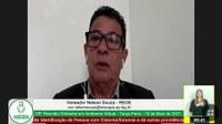 Nelson Souza aponta necessidade de reforma urgente da academia ao ar livre da Arena do Muca