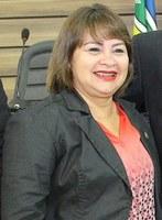 Neuzinha Velasco na defesa dos direitos da mulher.