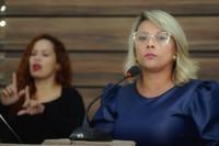 Patriciana Guimarães acompanha andamento de obras na feira do Novo Horizonte