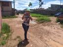 Patriciana Guimarães pede serviço de asfaltamento para ruas do bairro Araxá