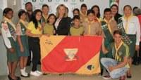 Patriciana Guimarães recebe Clube de Desbravadores Maranata do Equador na Câmara Municipal de Macapá