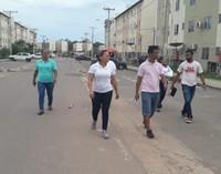 Patriciana Guimarães solicita Sessão Itinerante no Conjunto Habitacional Macapaba.