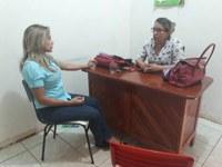 Patriciana Guimarães trabalhando junto aos bairros de Macapá