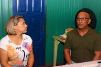 Patriciana Guimarães visita bairro da zona norte da cidade