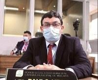 Paulo Nery reclama da falta de telefonia celular na comunidade São Joaquim Pacuí